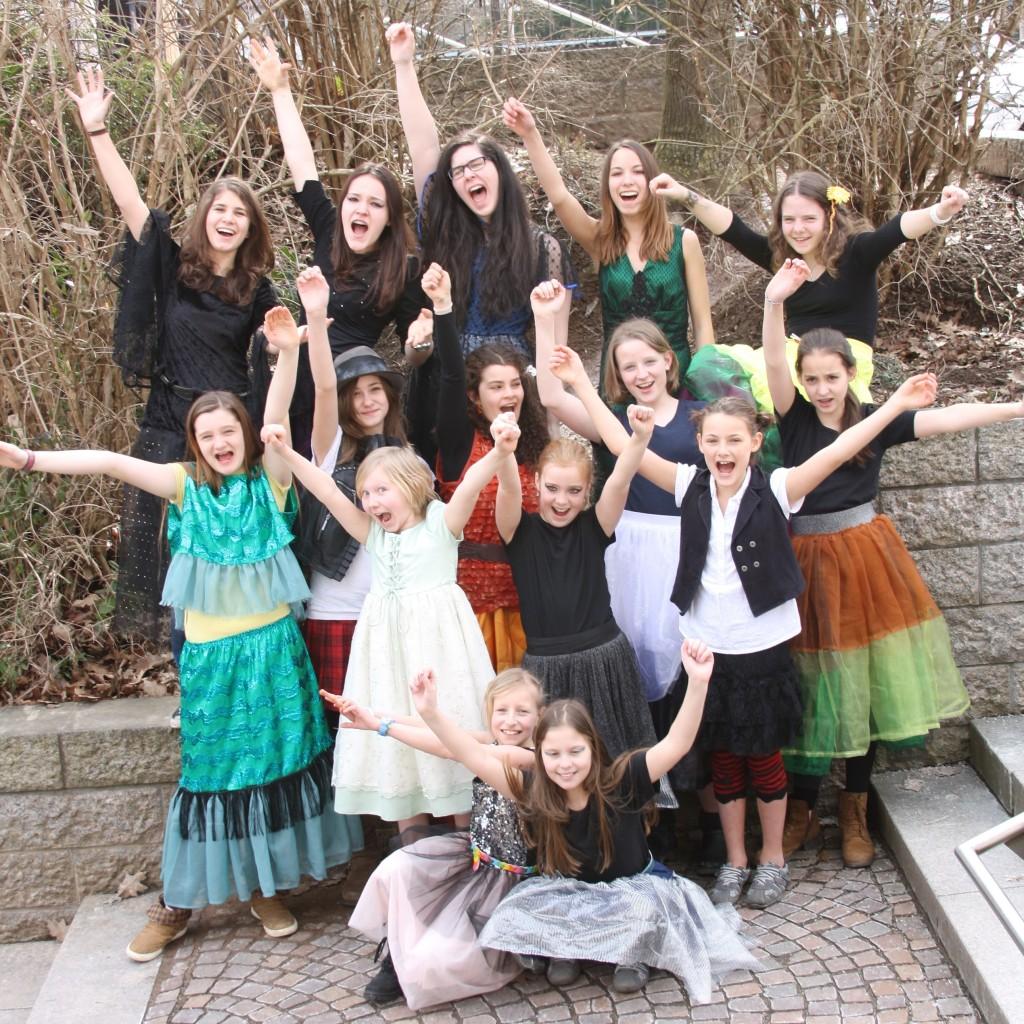 Cast Hexenschule – Pressetermin 23.03.2013