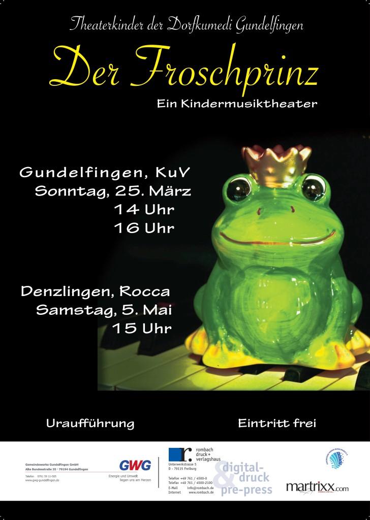 Plakat Der Froschprinz