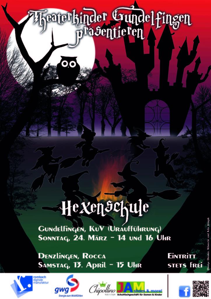 Flyer-Plakat Hexenschule
